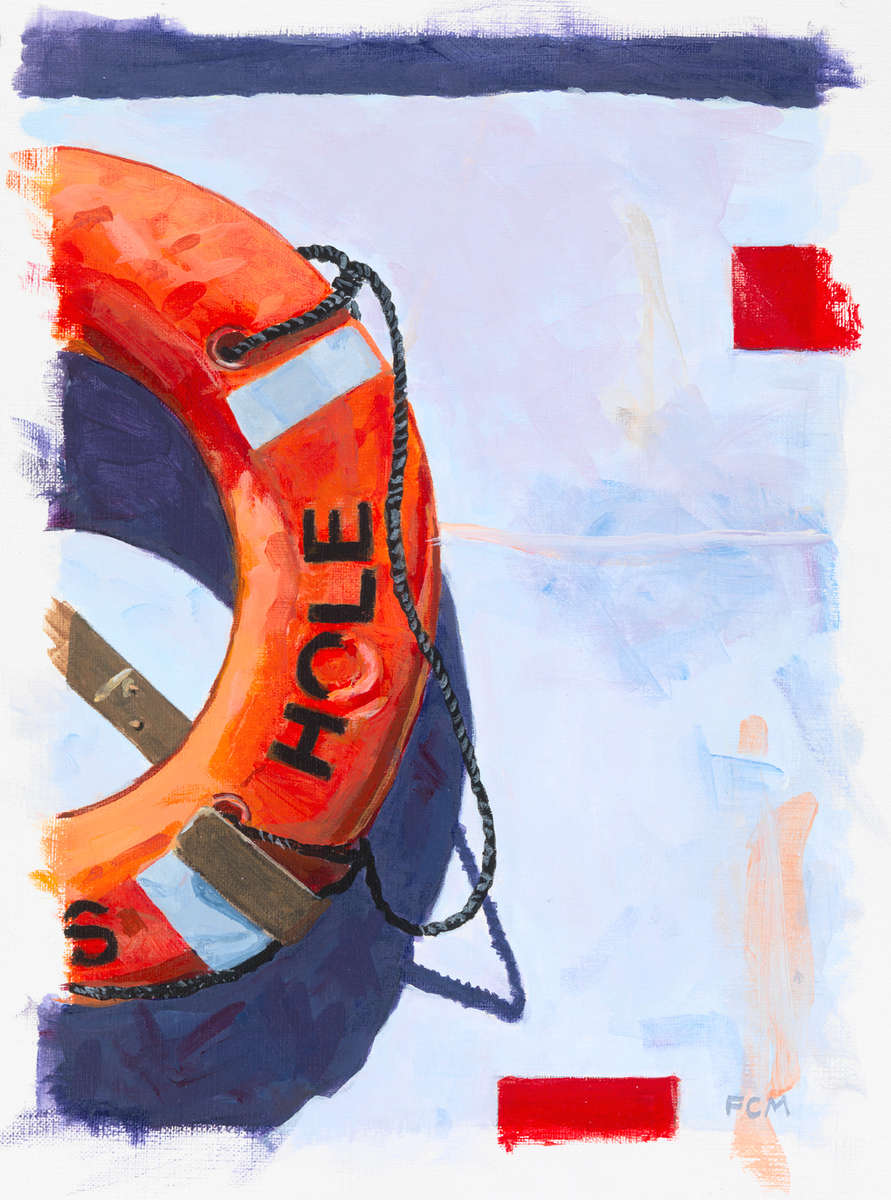 Woods Hole Life Ring